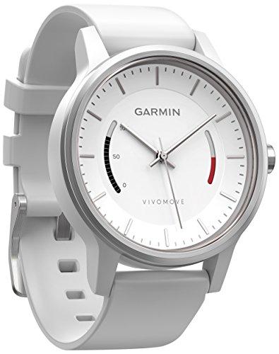 Garmin Vivomove Monitor de Actividad con Correa Deportiva Color Blanco