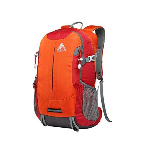 Zaino Outdoor/Pacchetto trekking leggero impermeabile/Viaggi sport-arancia 3 30L arancia 3