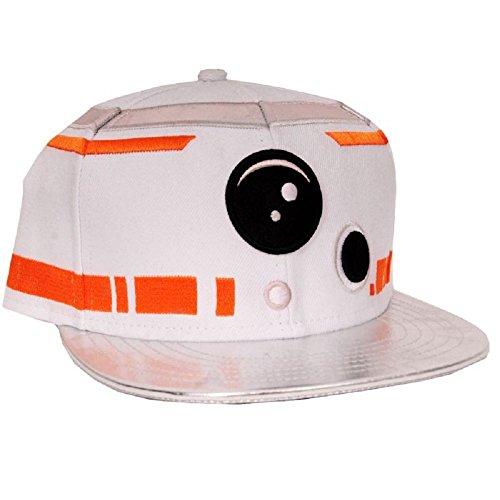 Preisvergleich Produktbild Star Wars BB-8 Astromech Droid Snapback-Cap weiß/orange