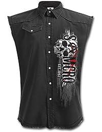 Sons Of Anarchy Reaper Veste sans manches noir