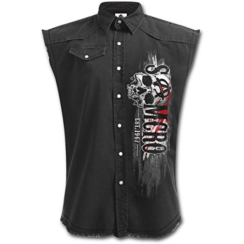 Sons Of Anarchy Chaqueta Motera Rifle Reaper (Negro) - XL