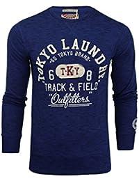 Tokyo Laundry 'Harper Cove' T-shirt - Manches longues - Homme