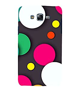 printtech Designer Dots Abstract Back Case Cover for Samsung Galaxy J5 / Samsung Galaxy J5 J500F
