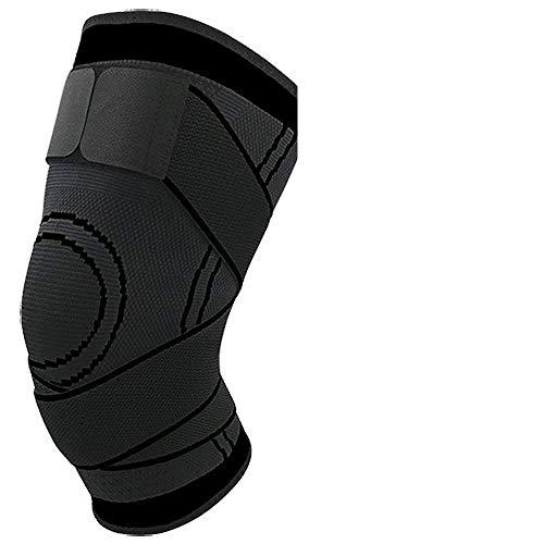 CCZ Knieschützer Atmungsaktive Wärme Knieschoner Wintersport Sicherheit Knieschoner Training Elastische Kniestütze Knieschoner @Black_XXXL