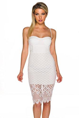 Unbekannt - Robe - Femme Weiß