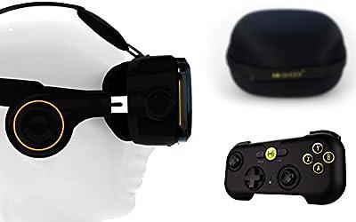 VR-Shark Virtual Reality VR Headsets / Bluetooth Gamepads / Controller / VR Bundle Gear