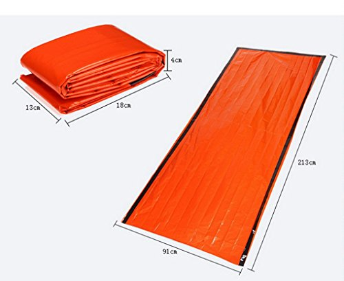 41sWlWOQwwL - ACMEDE Outdoor Emergency First Aid Kit Sleeping Bags Radiation Protection Adiabatic Lifesaving Insulation Blankets…