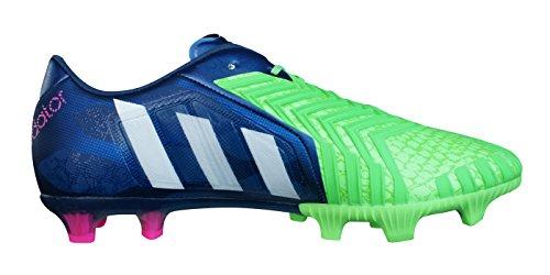 adidas Predator Instinct FG Herren Fußballschuhe blau / neongrün