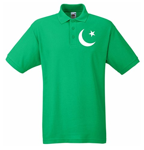 T-Shirtshock - Polo TM0190 flag of Pakistan flag, Taglia S