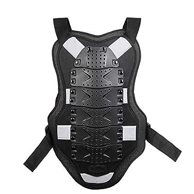 FQXM Motorrad Rüstung Kleidung Fahrradschutzweste Outdoor Sports Roller Skating Ski Schutzkleidung/Reflektierende Streifen/Bequeme/atmungsaktiv