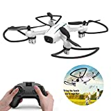 WINGLESCOUT Drone ohne Kamera Pro Drohne RC Quadcopter Drohne Kind Spielzeug Quadcopter Racing Drohne Anti-Shock+Rückkehr+Rotation Grad 360 °+LED Licht / Drohne Video