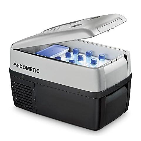 Dometic COOLFREEZE CDF 36 - Kompressor-Kühlbox, Gefrier-Box mit 12/24 Volt Anschluss für Zigarettenanzünder für PKW und LKW, tragbarer Mini-Kühlschrank, ca. 31 Liter