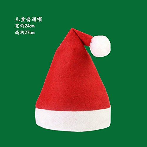 Damjic Weihnachten Weihnachten Für Kinder Hüte Hüte Erwachsene Weihnachten Weihnachtsmann Schneemann Hüte Hüte (Hut Und Jester Rot Schwarz)