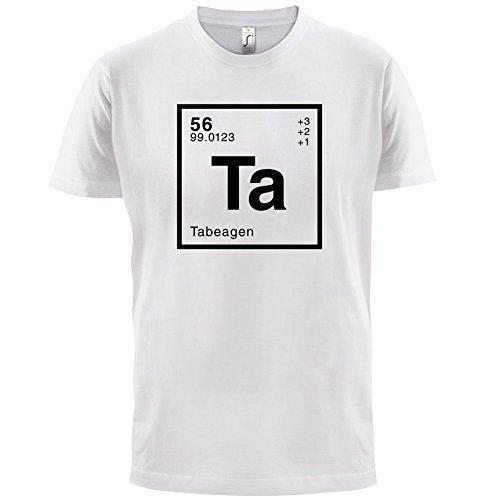 Tabea Periodensystem - Herren T-Shirt - 13 Farben Weiß