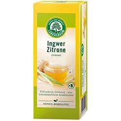 Lebensbaum Grüntee Ingwer-Zitrone im Beutel (40 g) - Bio