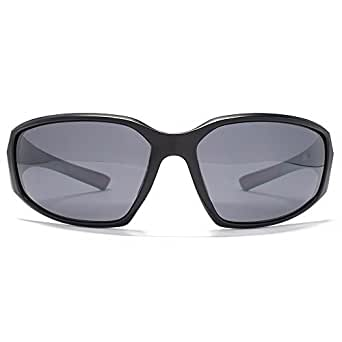 9a9ea0dc3d Image Unavailable. Image not available for. Colour  Freedom Polarised  Sports Wrap Sunglasses in Black FRG145381