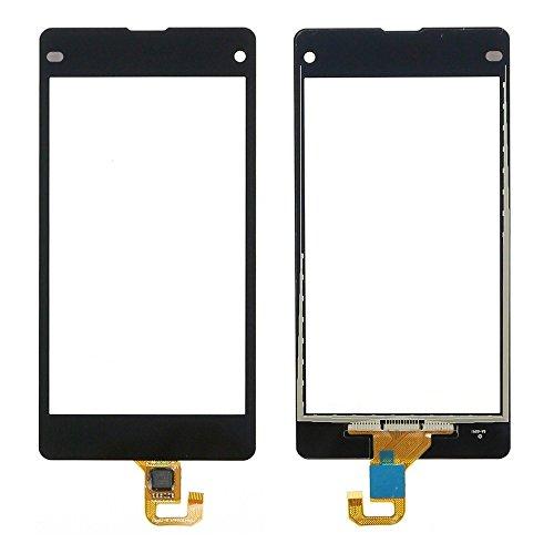 Sony Xperia Z1 Mini Compact D5503 M51w Touch Screen Digitizer Schermo Vetro (Senza LCD Display) di Ricambio e Strumenti Gratuiti (Nero)