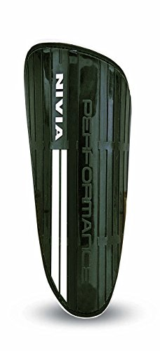 Nivia Performance Football Shin Guard, Large (Black)  available at amazon for Rs.189