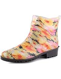 60f0543fe Amazon.es  flores - Botas   Zapatos para mujer  Zapatos y complementos