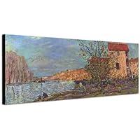 Alfred Sisley–_ _ 014_ 150x 50cm _ murale Stampa Artistica Su Tela Dipinto dall' originale alte Meister–14. fino a  ° secolo capolavori del Tempo