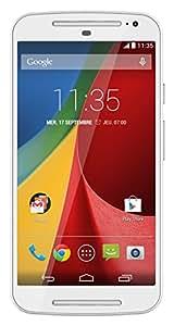 Motorola Moto G (2ème Génération) Smartphone débloqué 3G+ (Ecran: 5 pouces - 8 Go - Android 6.0 Marshmallow) Blanc