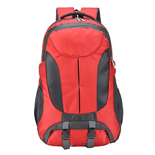 Ogert Tasche Mit Großer Kapazität Im Freien Bergrucksack Schulter-Reit Red