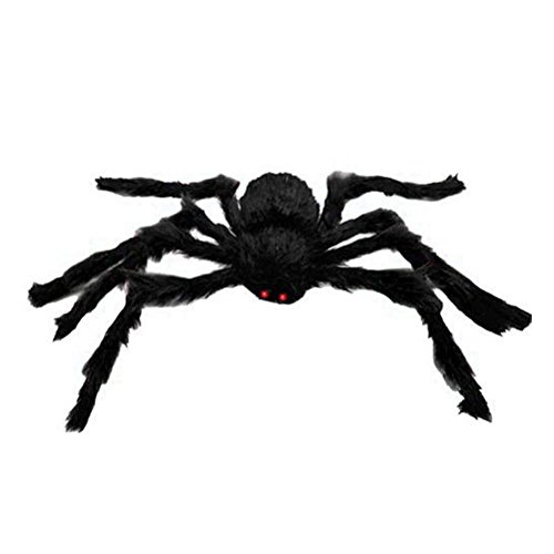HEALIFTY 1 STÜCK 150 cm Scary Spooky Spinne Halloween Party Scary Decor Spukhaus Prop (Scary Halloween Props)