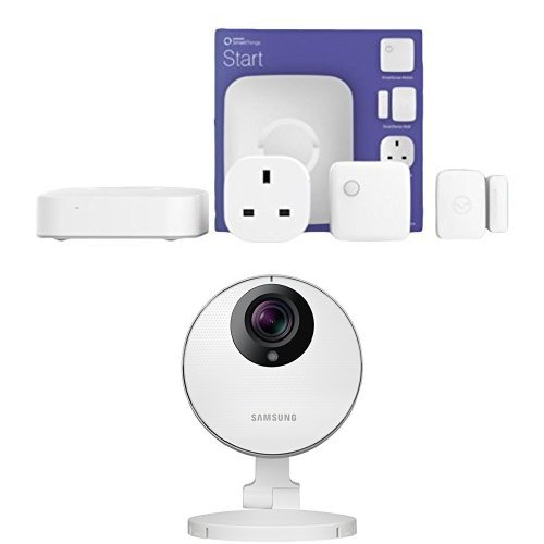 Samsung SmartThings Starter Kit with HD Indoor Pro Camera