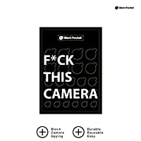 ‏‪Silent Pocket Webcam Privacy Stickers for Camera Lens Privacy and Security black‬‏