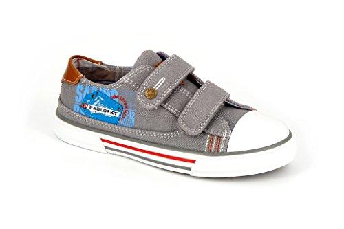 Pablosky 934850, Chaussures avec Velcro Mixte Enfant Le bleu marine