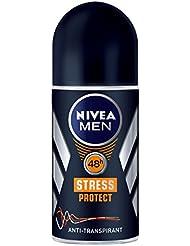 Nivea Men Stress Protect Deo Roll-on, Antitranspirant, 3er Pack (3 x 50 ml)