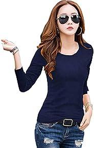 100% Soft Cotton inner tops with Long Full Sleeves-قمم ارتداء القطن الناعمة الداخلية ، قميص تحت بأكمام طويلة ك