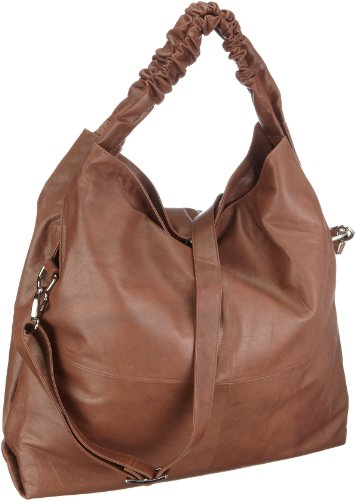 Bodenschatz 4-693 AT 06 Antique, Damen Shopper, 47x11x46 cm (B x H x T) Braun (Cognac)