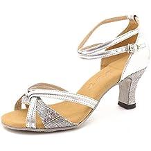 Zicac-Nuevo de las Mujeres de Moda Salsa Tango Zapatos de Baile Latino Sandalias