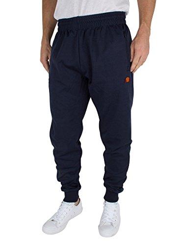 Ellesse Uomo Bertone Poly Logo Joggers, Blu, Small