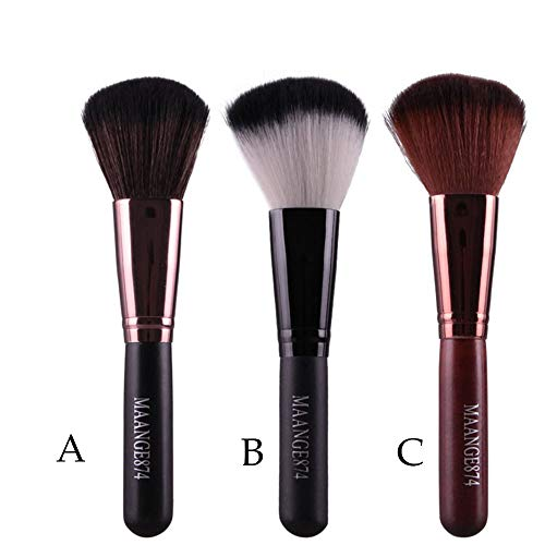 Yazidan Make-Up Pinsel Foundation Pinsel Schminkpinsel Kosmetikpinsel Pudrige oder Flüssige...