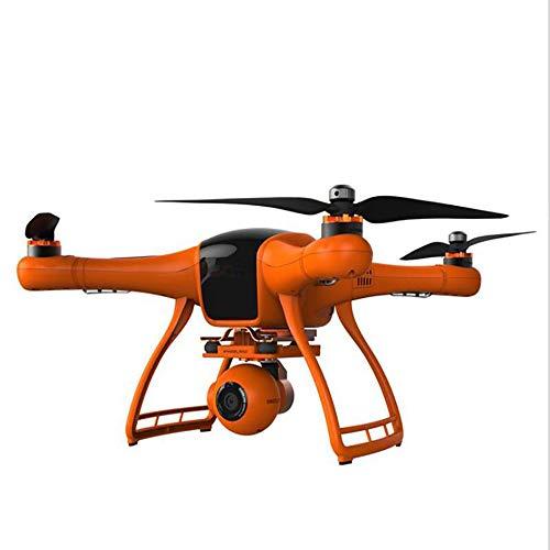 Pan-tilt-system (LXF Muzli-UAV Professionelle Antenne Drohne 5,8G FPV Quadrocopter High-End Luftfahrt Modell Pan/Tilt Stability System Langstreckenflug Intelligente Fernbedienung Flugzeug (gelb))