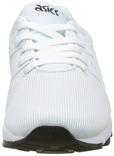 Asics Gel-Kayano Trainer Evo, Baskets Mixte Adulte Blanc (White)