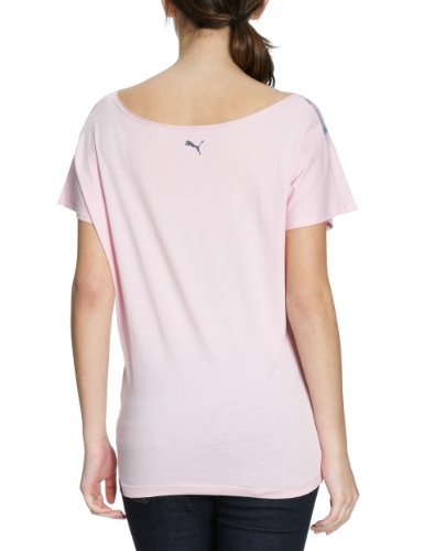 Puma Aquarell Cat T-shirt pour femme Pink Lady