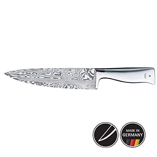 WMF 1880399998 Kochmesser Klingenlänge 20 cm Grand Gourmet Damasteel Performance Cut