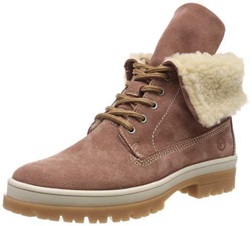 Tamaris Damen 26254-21 Combat Boots, Pink (Old Rose 517), 39 EU