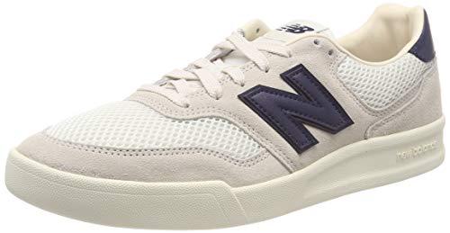 New Balance CRT300v2, Scarpe da Tennis Uomo, Bianco White/Navy, 43 EU