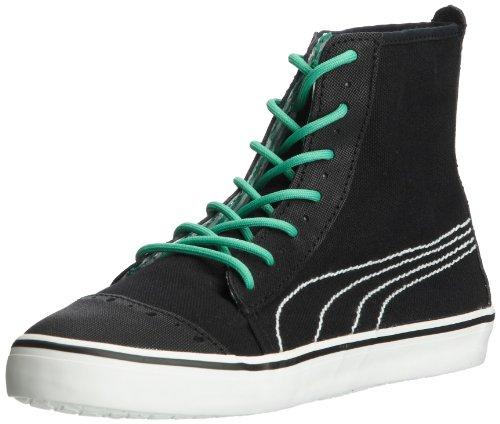 Puma Kamila Mid Gingham 354512 Damen Sneaker Schwarz (black-mint leaf 01)