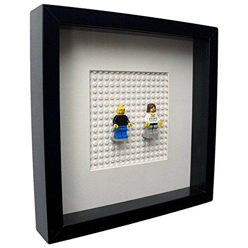 Famous Frame - Bilderrahmen für LEGO Minifguren / Minifgures (Lego Bilderrahmen)