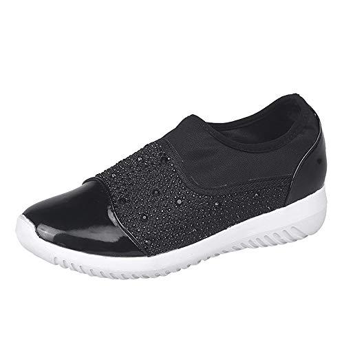 ELECTRI Femmes Sport Chaussures de Gym Fitness Chaussures de Course Antidérapantes et Confort Chaussures Respirantes Sneakers