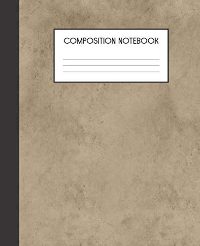 Composition Notebook: Vampire Goth Gothic Horror | College Ruled Notebook | Lined Journal | 100 Pages | 7.5 X 9.25