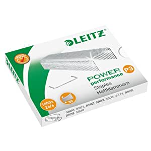 Leitz 55720000 Power Performance P3 Heftklammern 1000 Stück