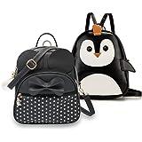 ShopyVid Girl's Backpack Combo Set of 2 | Rakhi Gifts for Sister