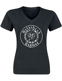 Motörhead Crest Girl-Shirt schwarz
