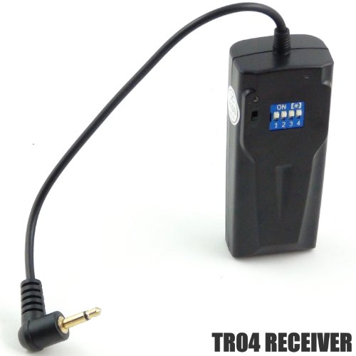 DynaSun tr04rec 16Kanal Professional Kabelloser Trigger Empfänger Fernbedienung Flash für TR04Kit Monolight-flash-kit